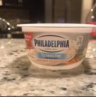 philadelphia cream cheese 1 3 less fat garden vegetable reviews