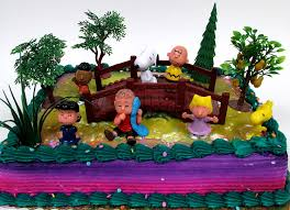 peanuts brown snoopy 12 birthday cake