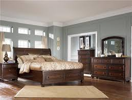 sleigh bedroom set ashley furniture porter queen sleigh bed with storage footboard