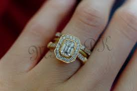 wedding rings redesigned emerald cut diamond ratio weddingbee