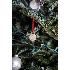 sand ornament beach ornament snowflake ornament christmas