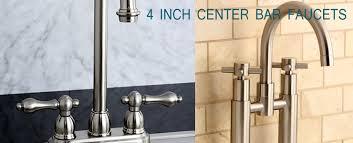 4 Inch Center Faucet 4 Inch Center Bar Faucet
