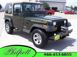aqua jeep wrangler 1995 moss green pearl jeep wrangler rio grande 4x4 16329282