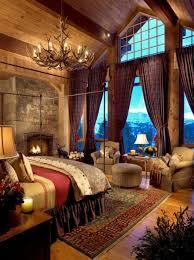 chambre chalet luxe chambre rustique dans un chalet de luxe chambre