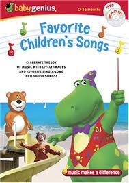 baby genius favorite children s songs w bonus cd