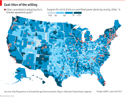 Yale Map Donald Trump U0027s Withdrawal From The Paris Agreement Is Unpopular