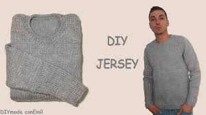 sueter tejido a dos agujas youtube cómo tejer jersey o sueter de hombre 1a de 3 partes mangas youtube