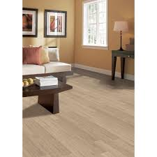 Locking Bamboo Flooring Home Legend Oceanfront Birch 3 8 In Thick X 5 In Wide X Varying
