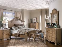 Bedroom Furniture Cream by Bedroom Charming Wooden Bedroom Furniture Set With Large Wooden
