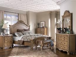 Cream Bedroom Furniture Bedroom Charming Wooden Bedroom Furniture Set With Large Wooden