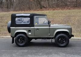 green land rover land rover defender 90 convertible by arkonik in willow green