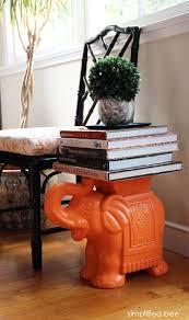 elephant end tables ceramic book endz never the twain shall meet stools diy interior and tables