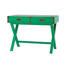Land Of Nod Coffee Table - campaign desk green desks land of nod contemporary