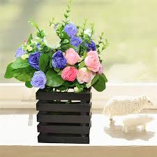 Flower Pot Holders For Fence - wooden plant holders promotion shop for promotional wooden plant