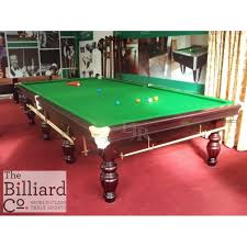 full size snooker table pre owned 12ft riley aristocrat table