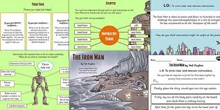 iron man instructions lesson teaching pack story books