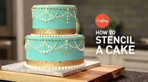 Decoration Fondant Cake Tips For How To Stencil A Cake Buttercream Fondant Cake