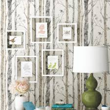 Peel And Stick Wallpaper by Entryway Makeover With Peel And Stick Wallpaper Roommates Blog