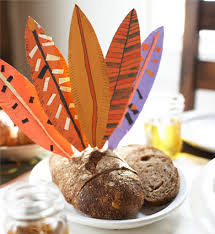how to make turkey feathers turkey table toppers for kids use skewers and decorate