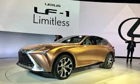 lexus lf 1 introduced at detroit auto show