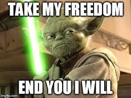 Lightsaber Meme - yoda lightsaber memes imgflip