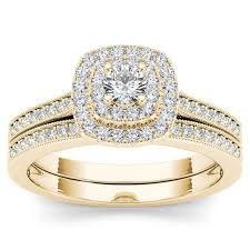 overstock wedding ring sets 21 best rings images on gold set free delivery and jewels