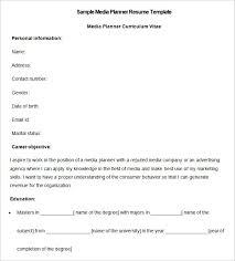 resume exles for media internships media resume template 31 free sles exles format