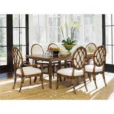 tommy bahama dining table tommy bahama home bali hai fisher island rectangular dining table to