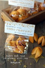 new year s fortune cookies fortune cookie treat bag topper printable