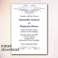 wedding invitations jackson ms ms word invitation templates free