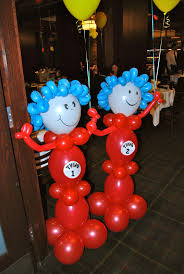 dr seuss balloons dr seuss balloons jacob s dr seuss themed 1st birthday