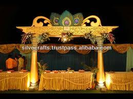 Mandap Decorations Royal Indian Theme Mandap Fiber Wedding Mandap Decorations From