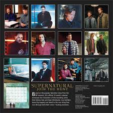 amazon black friday movie calender 2017 supernatural 2015 wall calendar the television series warner
