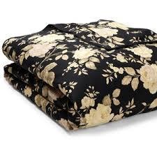 Black Floral Bedding Lauren Ralph Lauren Winter Rose Floral Duvet Full Queen Polyvore