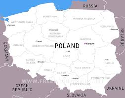Poland Map Flag Illustration Of A Glass Sphere With Poland Flag And World Map In