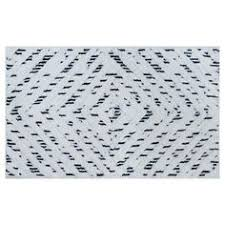 Black And White Bathroom Rugs Bath Rug Lagoon Blue White 20 Good To Be Home Pinterest