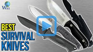 top 10 survival knives of 2017 video review 10 best survival knives
