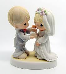 precious moments nib wedding figurines cake 2005 bride