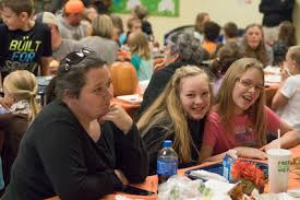 rosman elementary hosts thanksgiving feast the transylvania times
