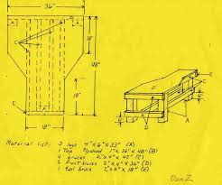 Free Simple Wood Bench Plans by 23 Best Shooting Bench Plans Images On Pinterest Shooting Bench