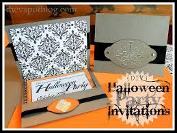 Halloween Party Invite Ideas Party Invitation Paper Cimvitation