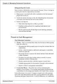 process manual template