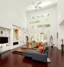 Ceiling Fan In Living Room by Contemporary Ceiling Fans For A Cozy Room Traba Homes