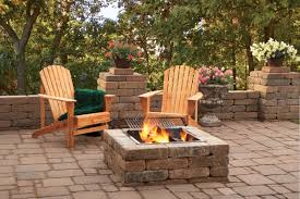 Easy Backyard Fire Pit Designs by Simple Backyard Paver Fire Pit The Latest Home Decor Ideas