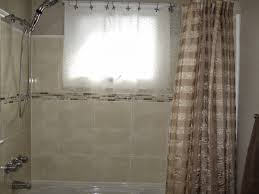 Windows In Bathroom Showers Bathroom Shower Window Curtains Curtains Ideas