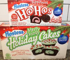 Best Hostess Hostess Peppermint Ho Hos U0026 Merry Minty Holiday Cakes Review Youtube