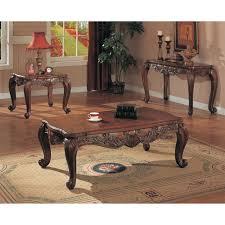 coaster furniture 700469 venice traditional sofa table homeclick com