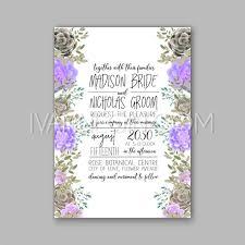 Succulent Wedding Invitations Peony And Succulents Wedding Invitation Card U2013 Unique Vector