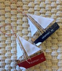 newport ri sailboat ornament
