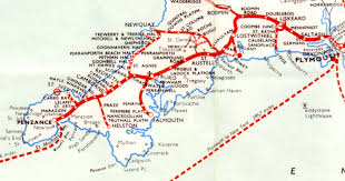 Map Of Western Pennsylvania by Railways Cornwall Map By Great Western Railways ღ N